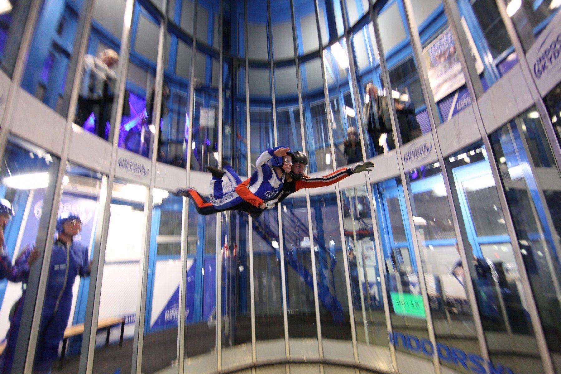 Home / Indoor skydive - Roosendaal