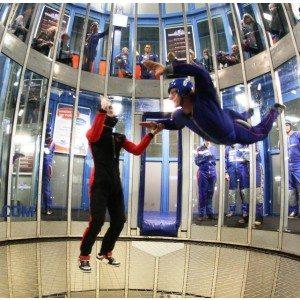 Indoor skydive 3, 4, 5 of 6 sessies