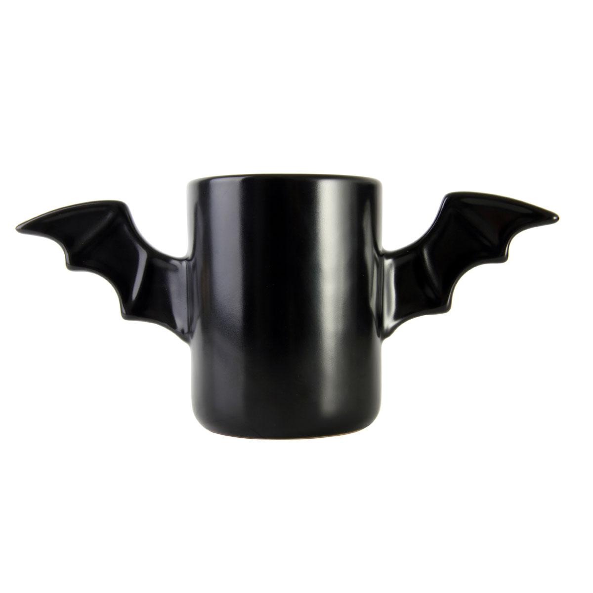 Afbeelding The Bat Mug Mok 300 ml - Zwart door YourSurprise.nl