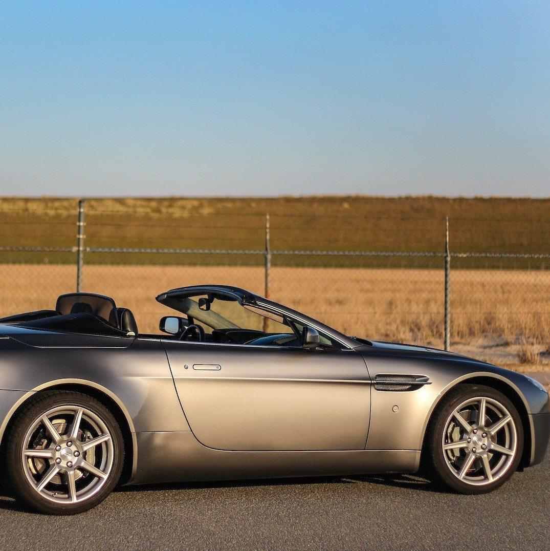 Aston Martin rijden in Breda