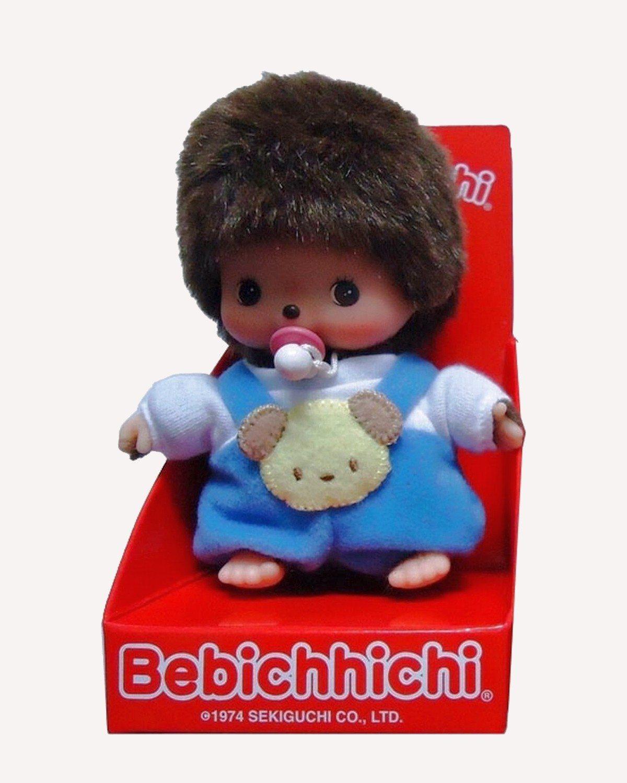 Bebichhichi pop in blauw kruippakje