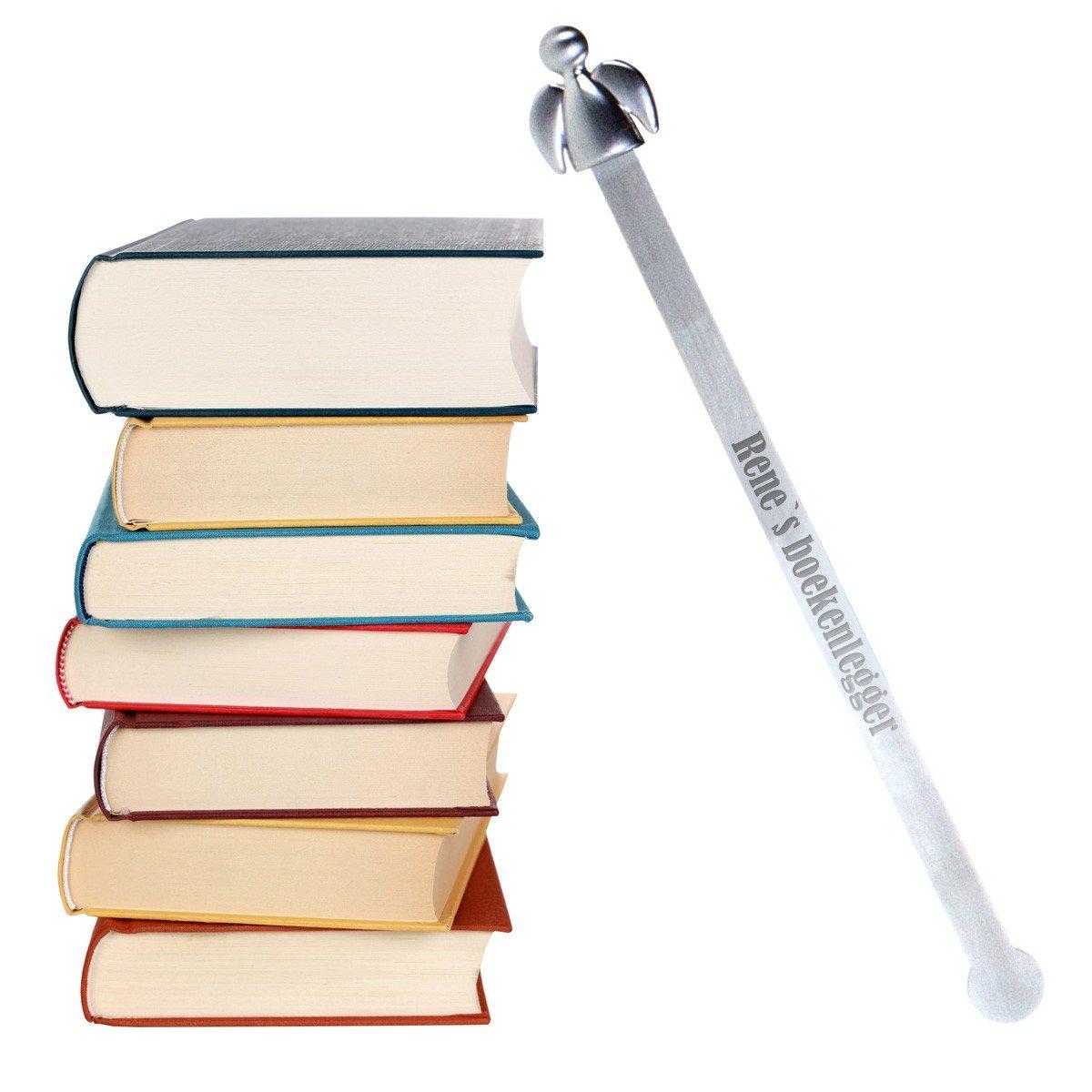 Beschermengel – boekenlegger met gravure