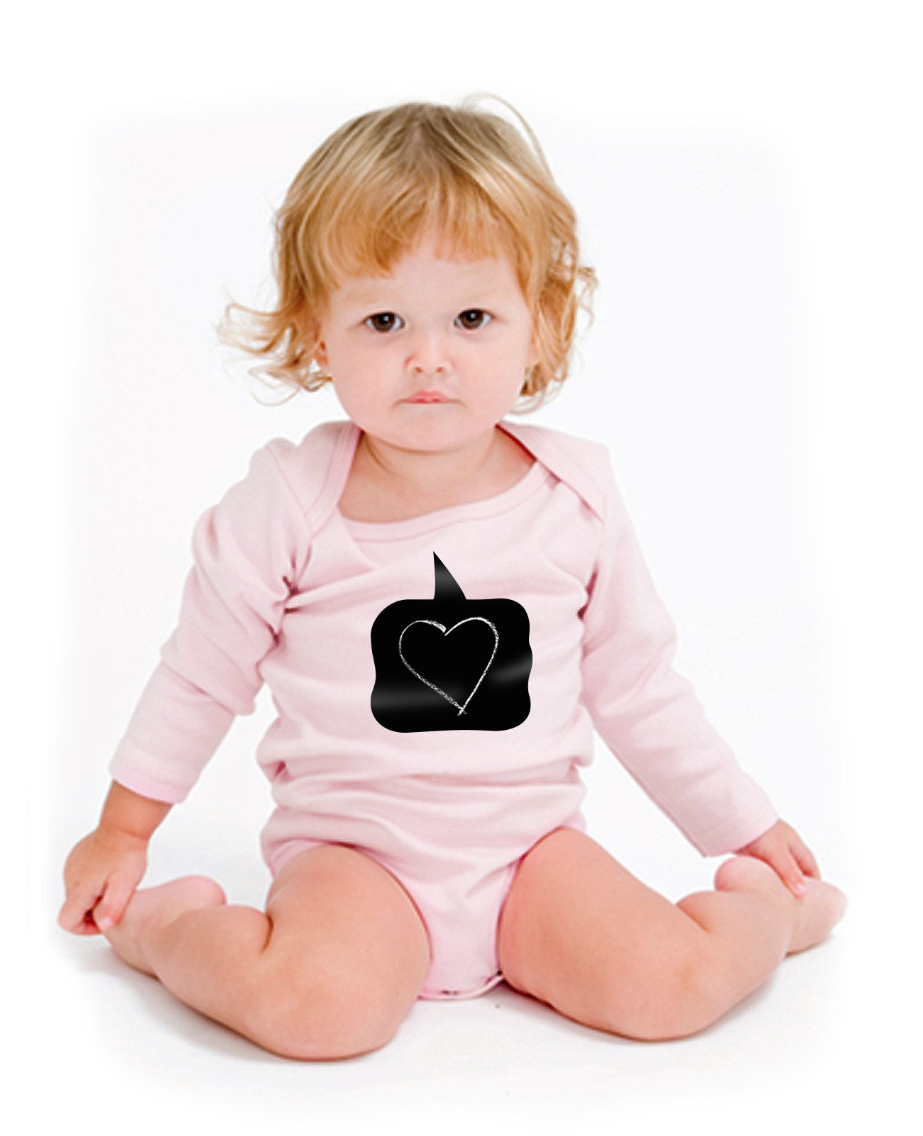 Beschrijfbaar babypakje - leuk cadeau voor baby´s