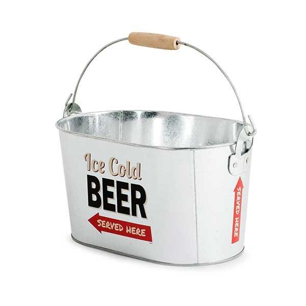 Bierkoeler met flesopener
