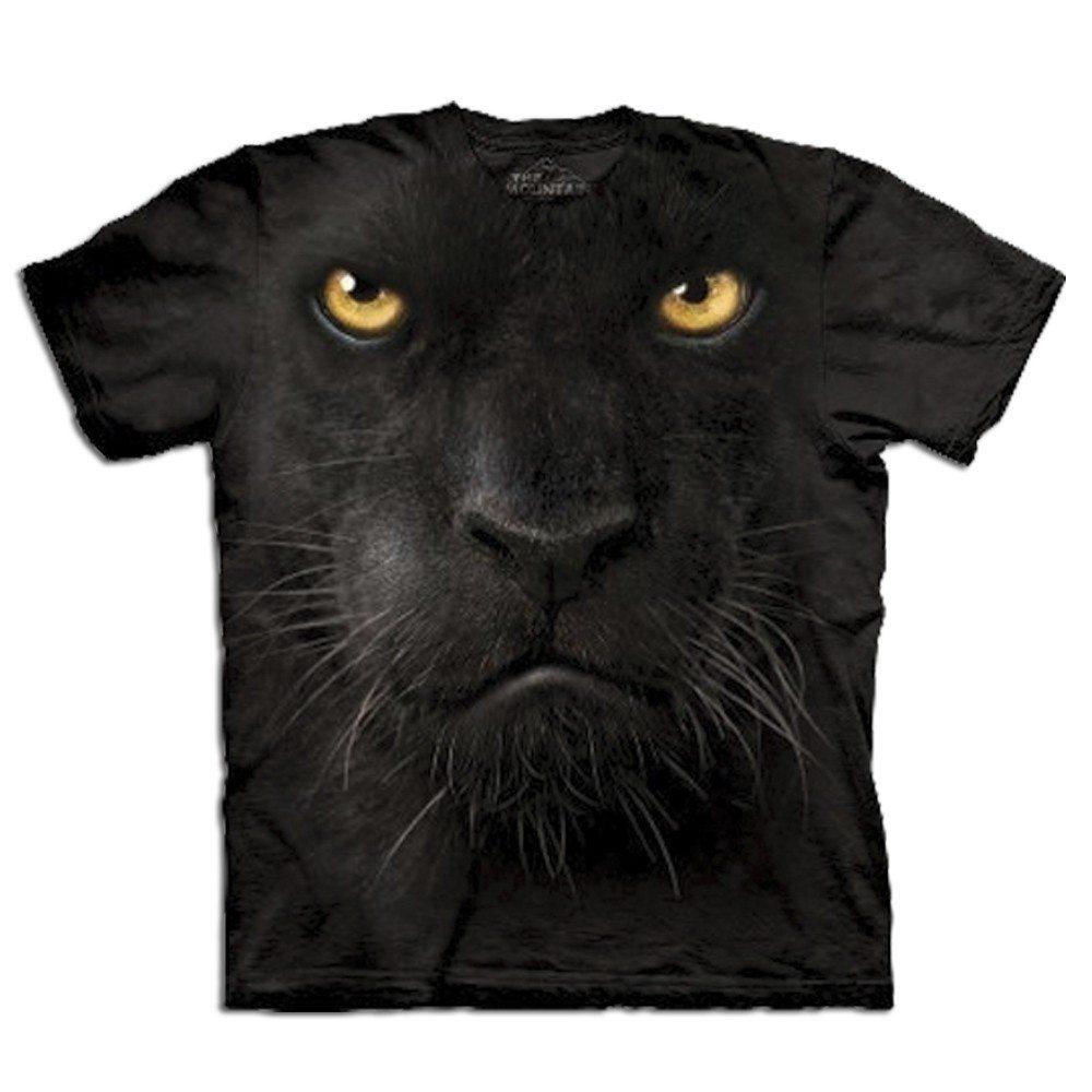 Big Face dieren T-shirt – Panter