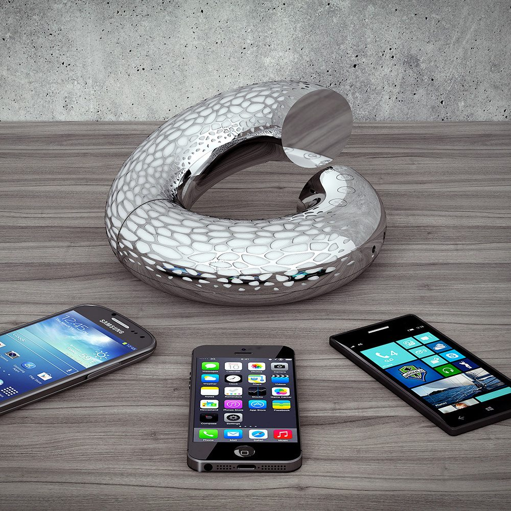 """Bluetooth-luidspreker """"AeroTwist"""" - voor verschillende apparaten"""