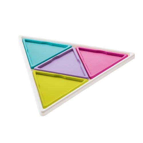 Bord en onderzetters driehoek