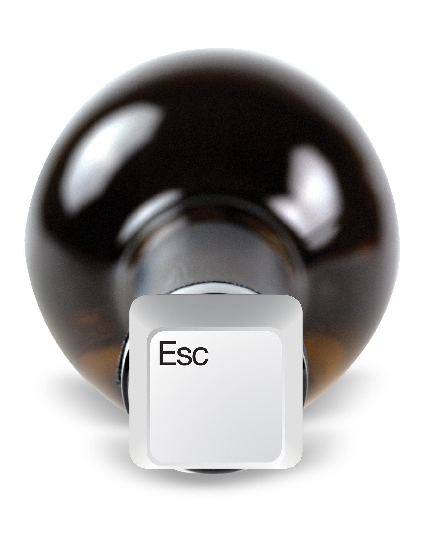 Caps Lock – set van 3 flessenkurken
