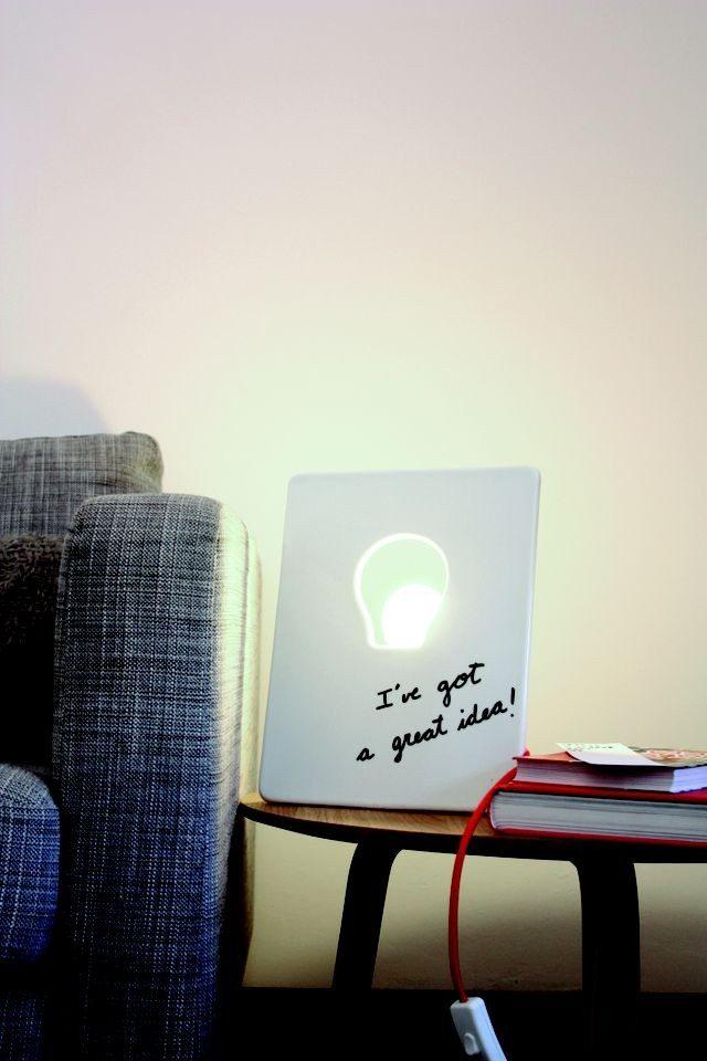 Draw Lamp - een lamp met eindeloze mogelijkheden