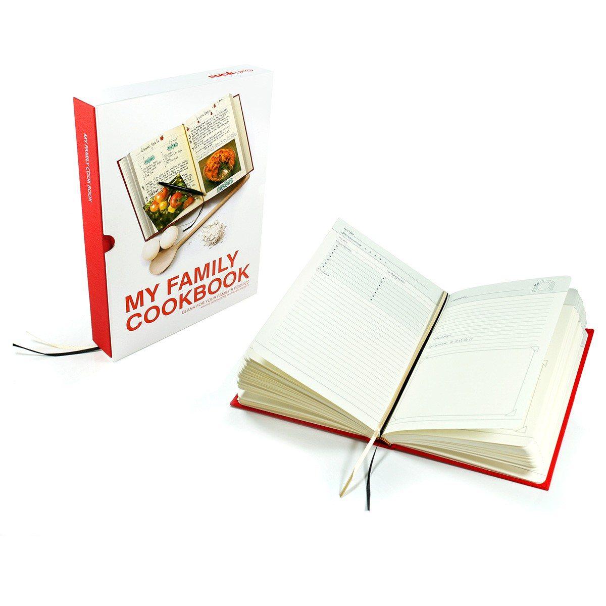 Familiekookboek om zelf vorm te geven