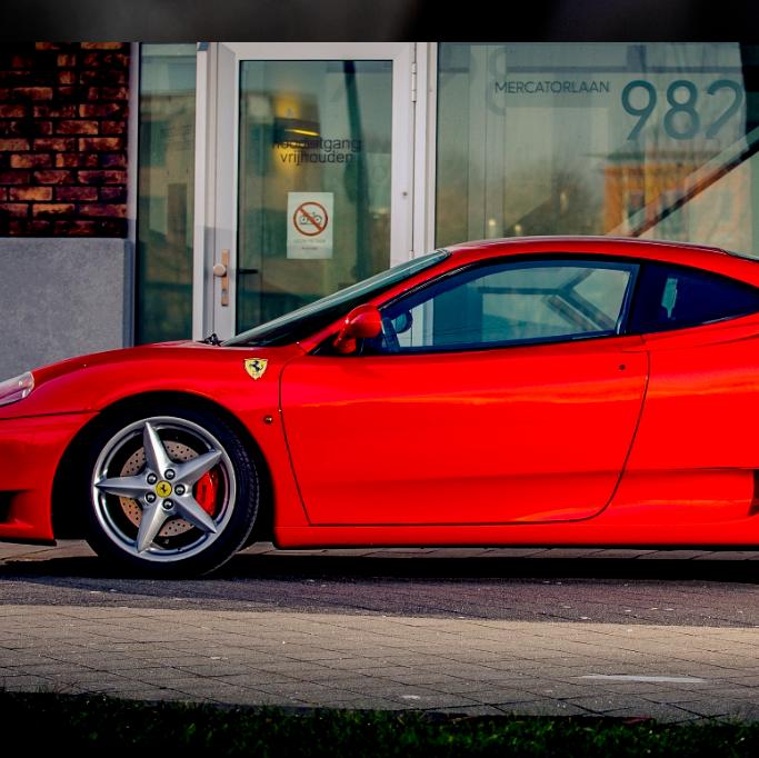 Ferrari rijden - Op locatie zij