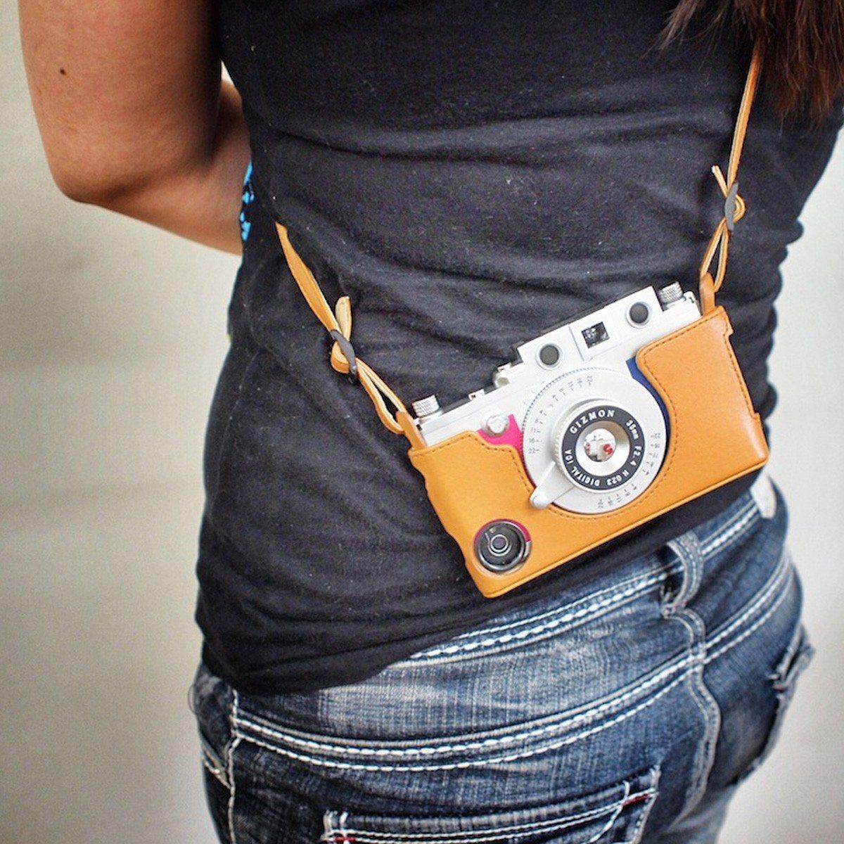 Gizmon Retro - draagtas voor iPhone 5/5S