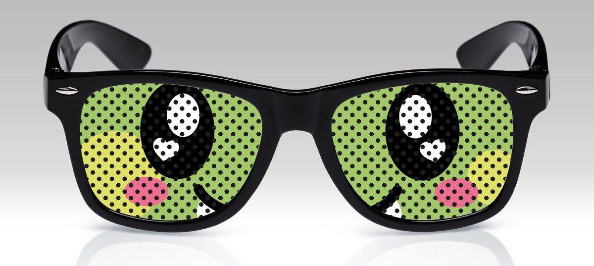 Grappige brillen met ogen