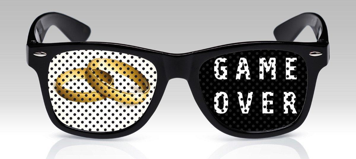Grappige brillen - vrijgezellenfeest