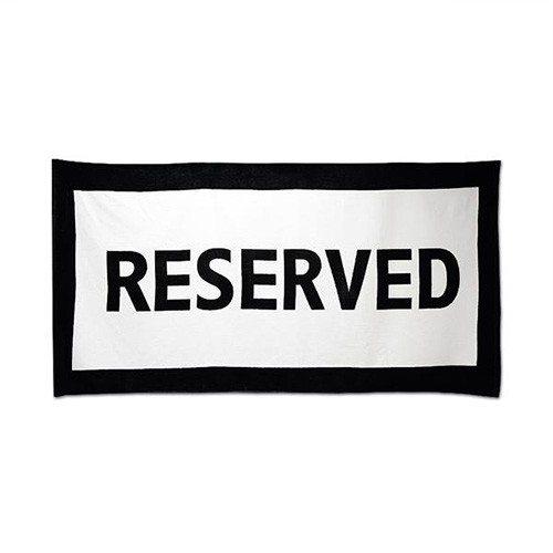 Handdoek ''reserved''
