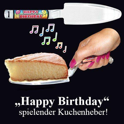 Happy Birthday - muzikale taartschep