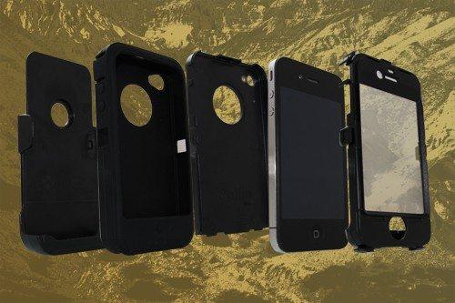 iPhone 4/4S beschermhoes – Lagen
