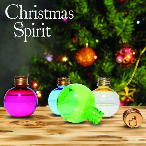 Kerstballen Schnaps set