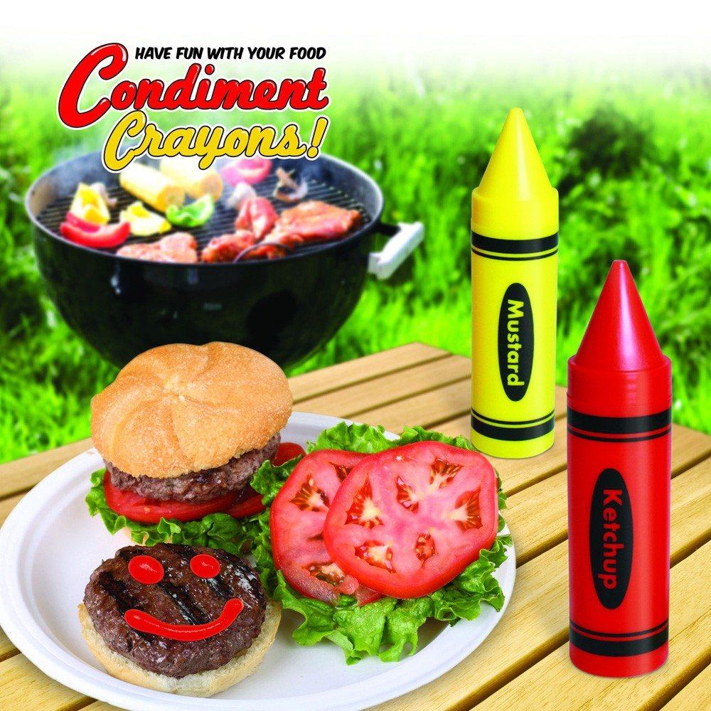 Ketchup- en mosterdstiften
