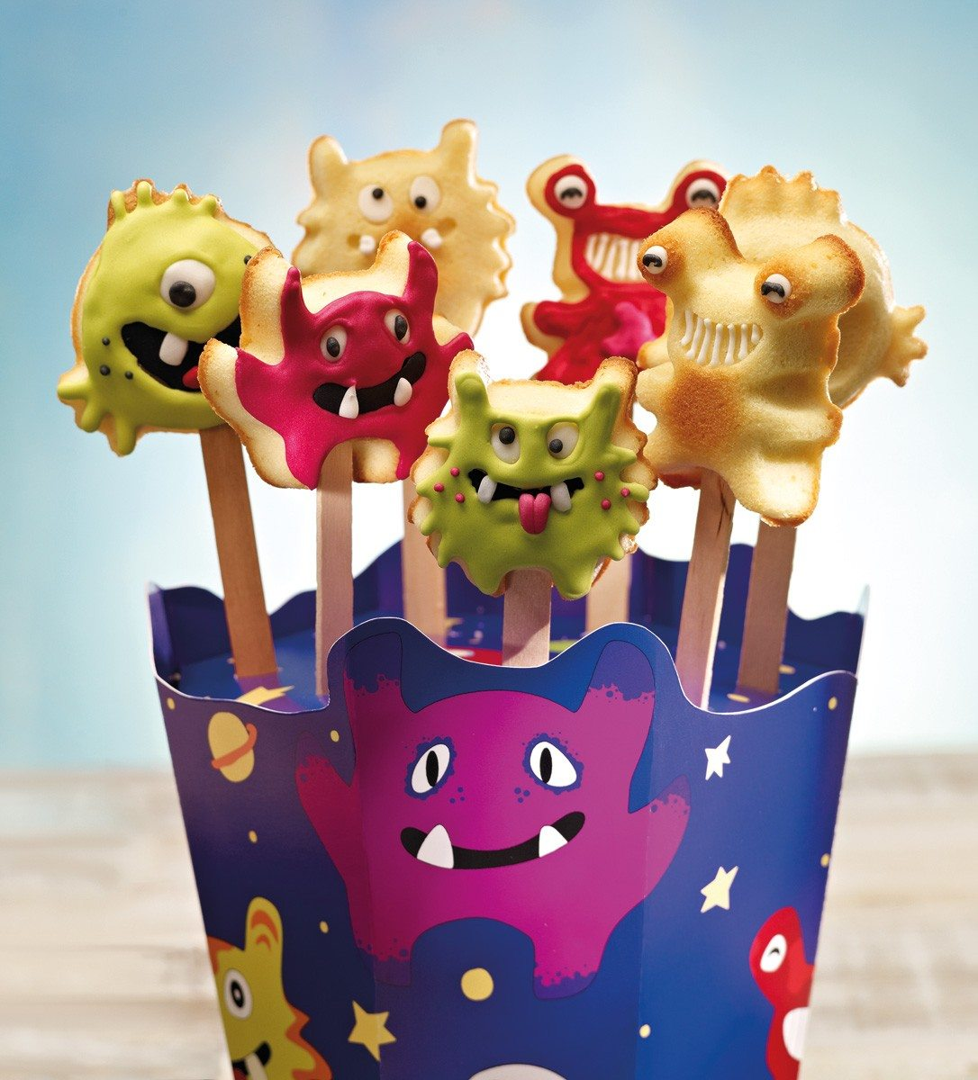 Kleine monsters - cakepops
