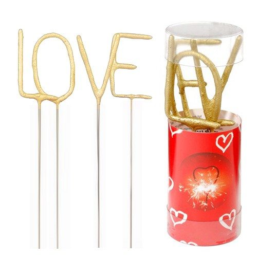 Mini sterretjes ''LOVE''
