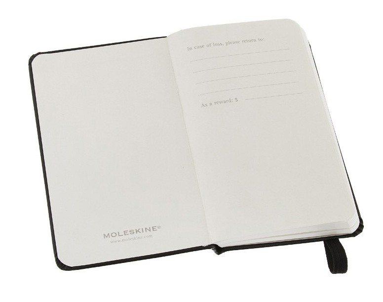 Moleskine notitieboek blanco