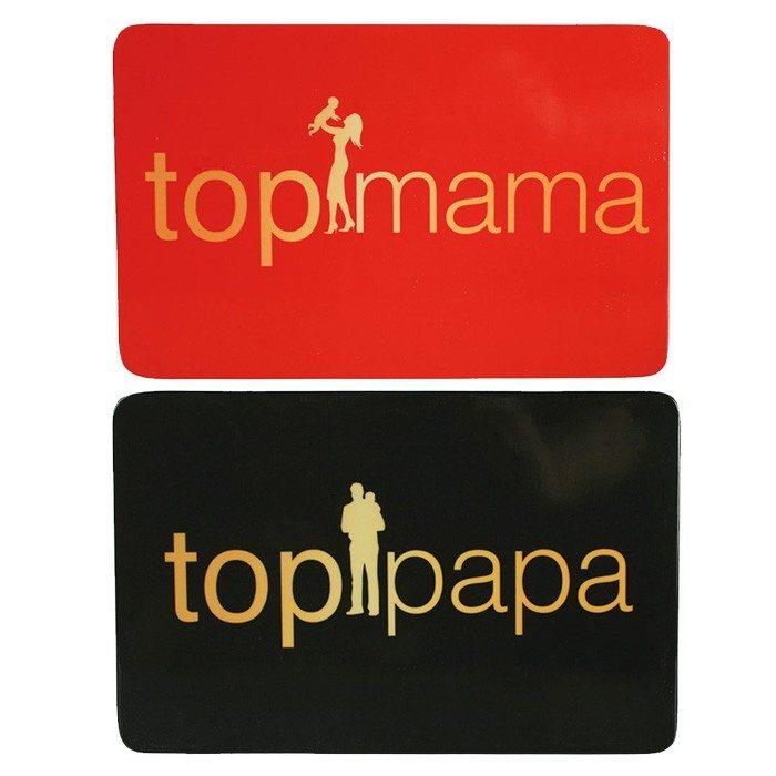 Ontbijtplankjes top-mama/top-papa