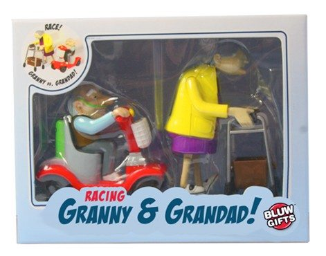 Opwindbare opa en oma