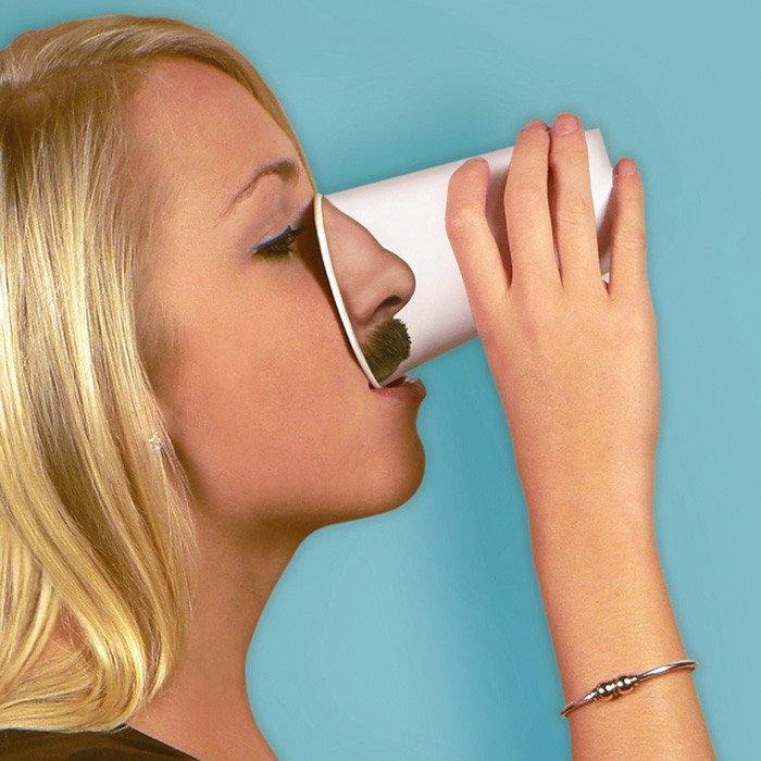 Pick your nose – grappige drinkbekers
