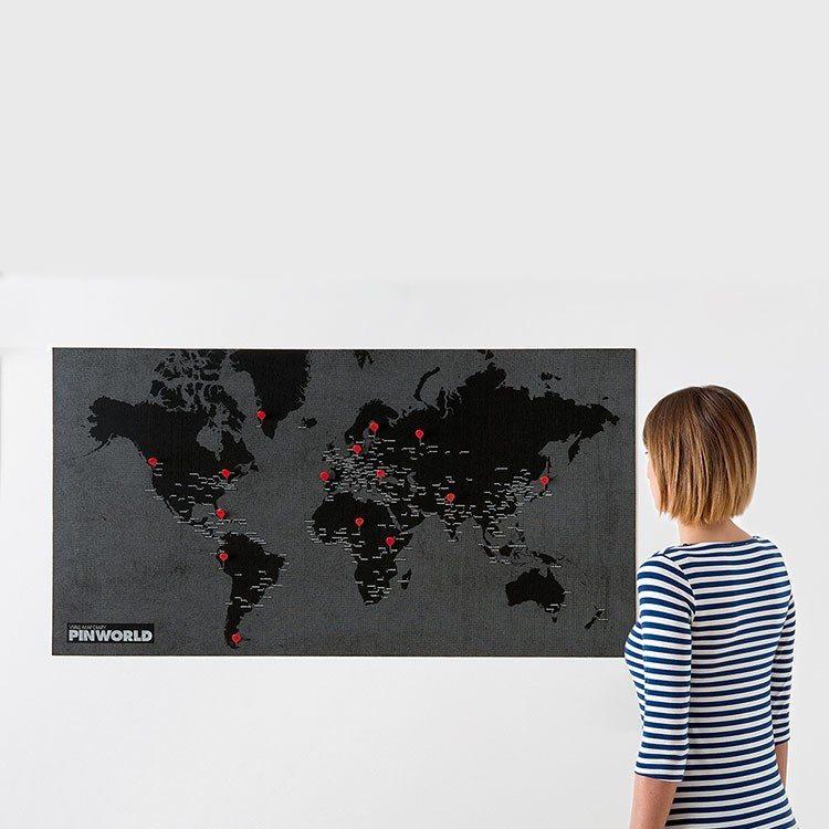 Pin World - de wereld aan je muur
