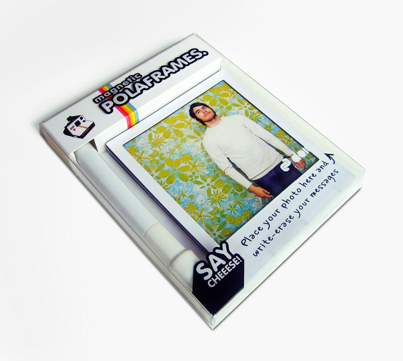 Polaframes - magnetische fotolijstjes in retro look