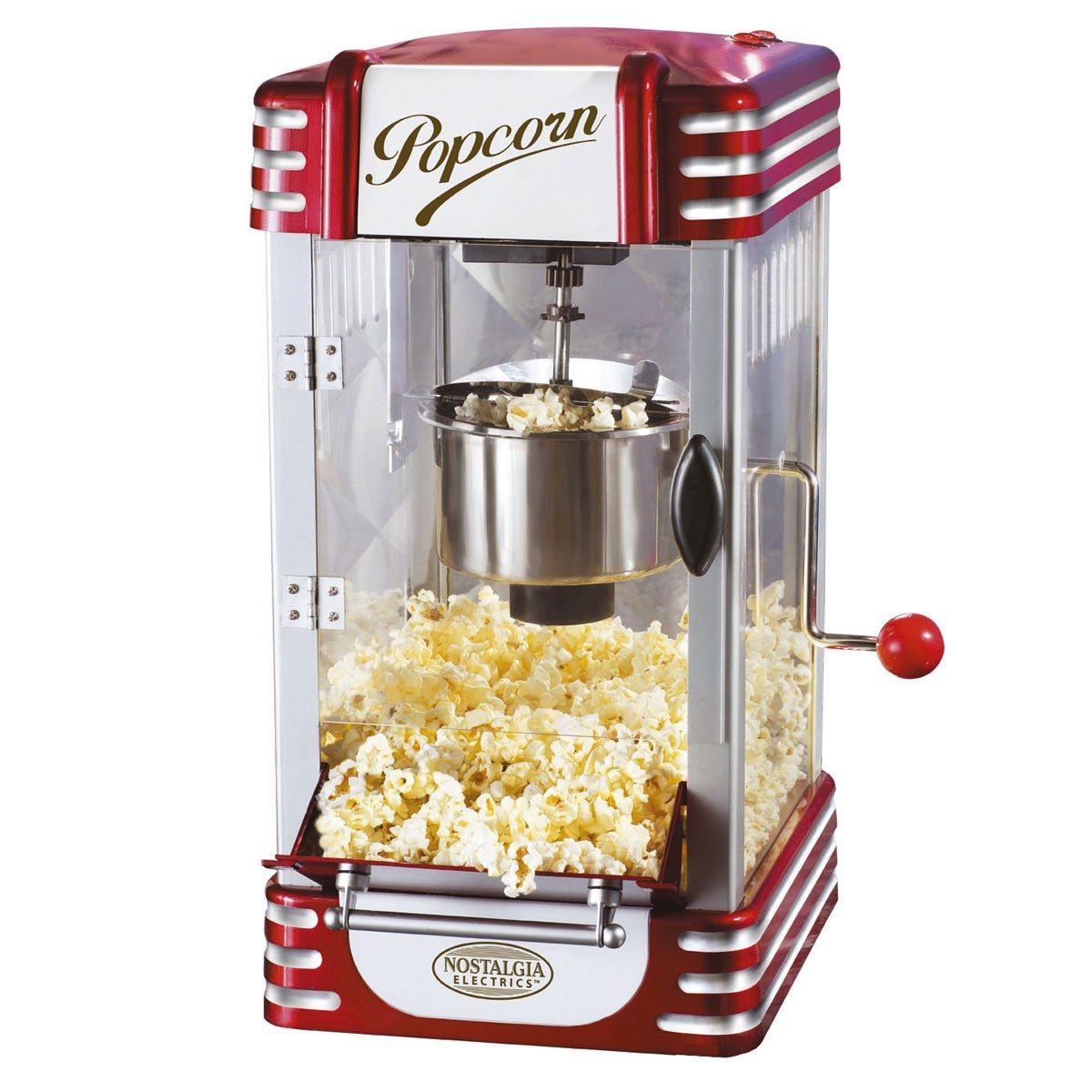 Popcornmaker retro de luxe