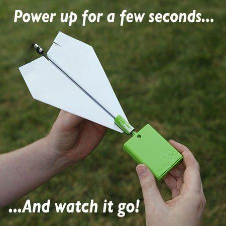 Power Up 2.0 - motor voor papieren vliegtuigjes
