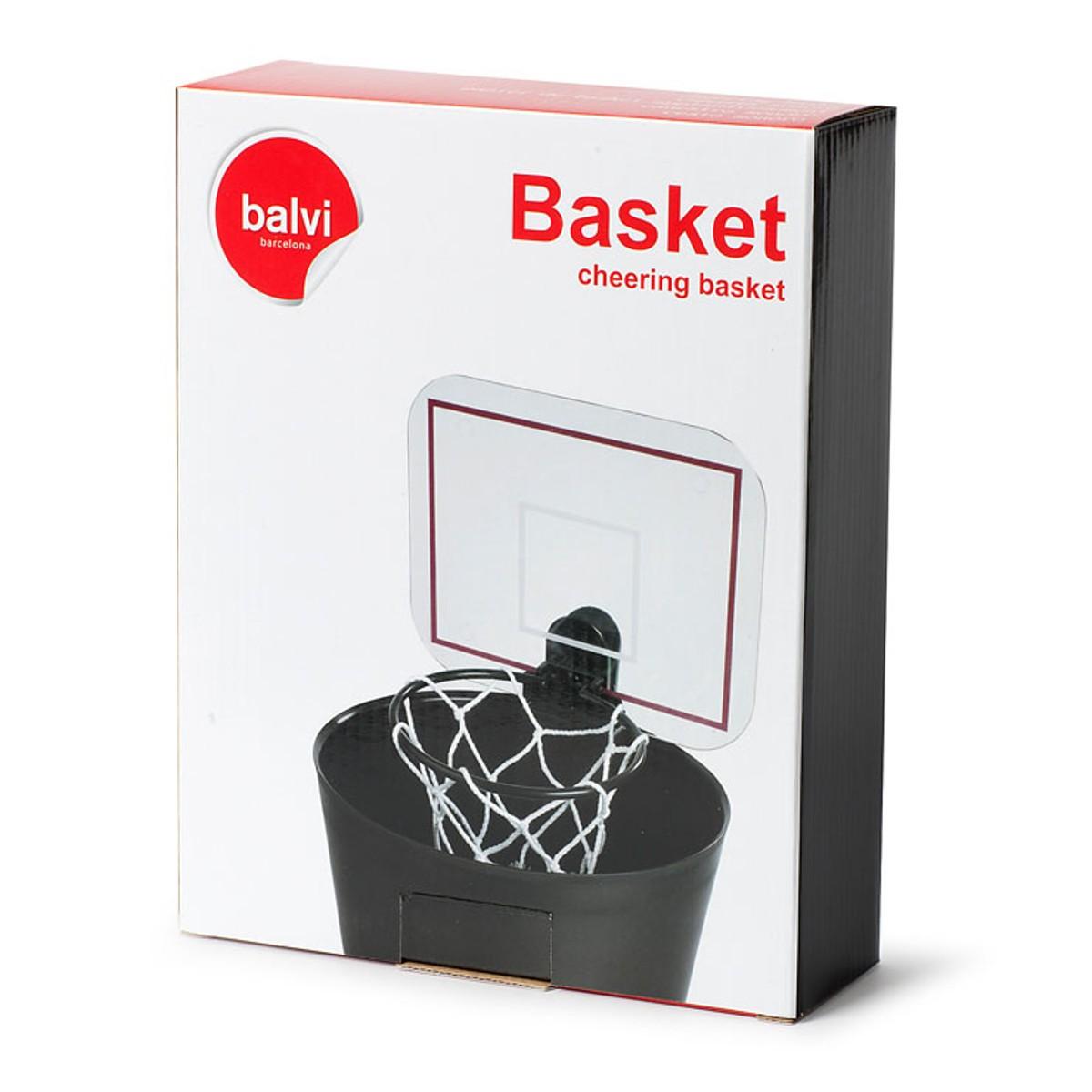 Prullenbak-basket met geluid!   Cadeautjes.nl