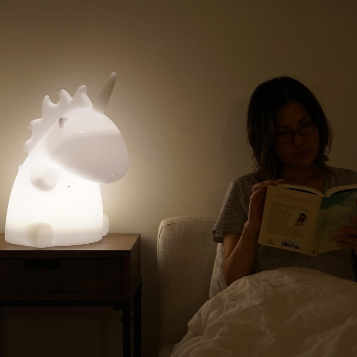 """Reuzelamp """"Eenhoorn"""""""