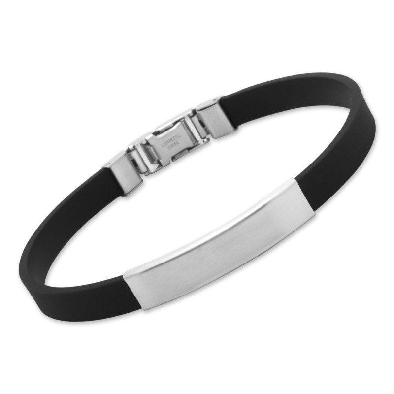 Rubberen armband met personaliseerbaar plaatje