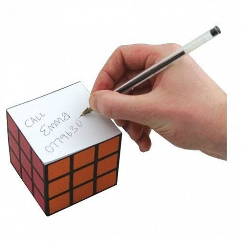 Rubik's Cube notitieblok