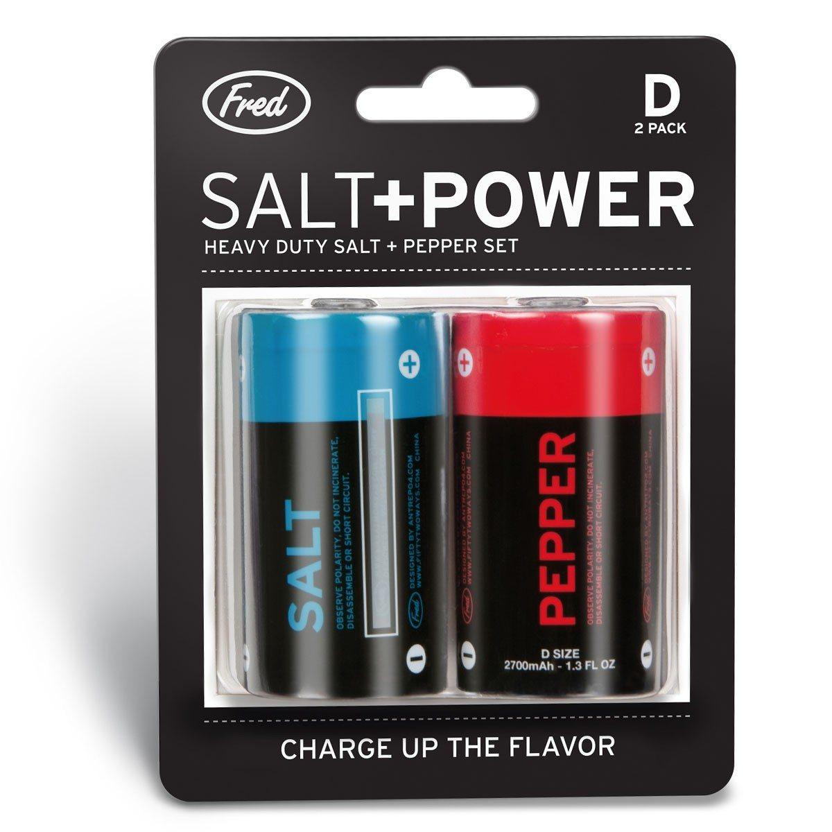 Salt + Power – Peper- en zoutstrooier