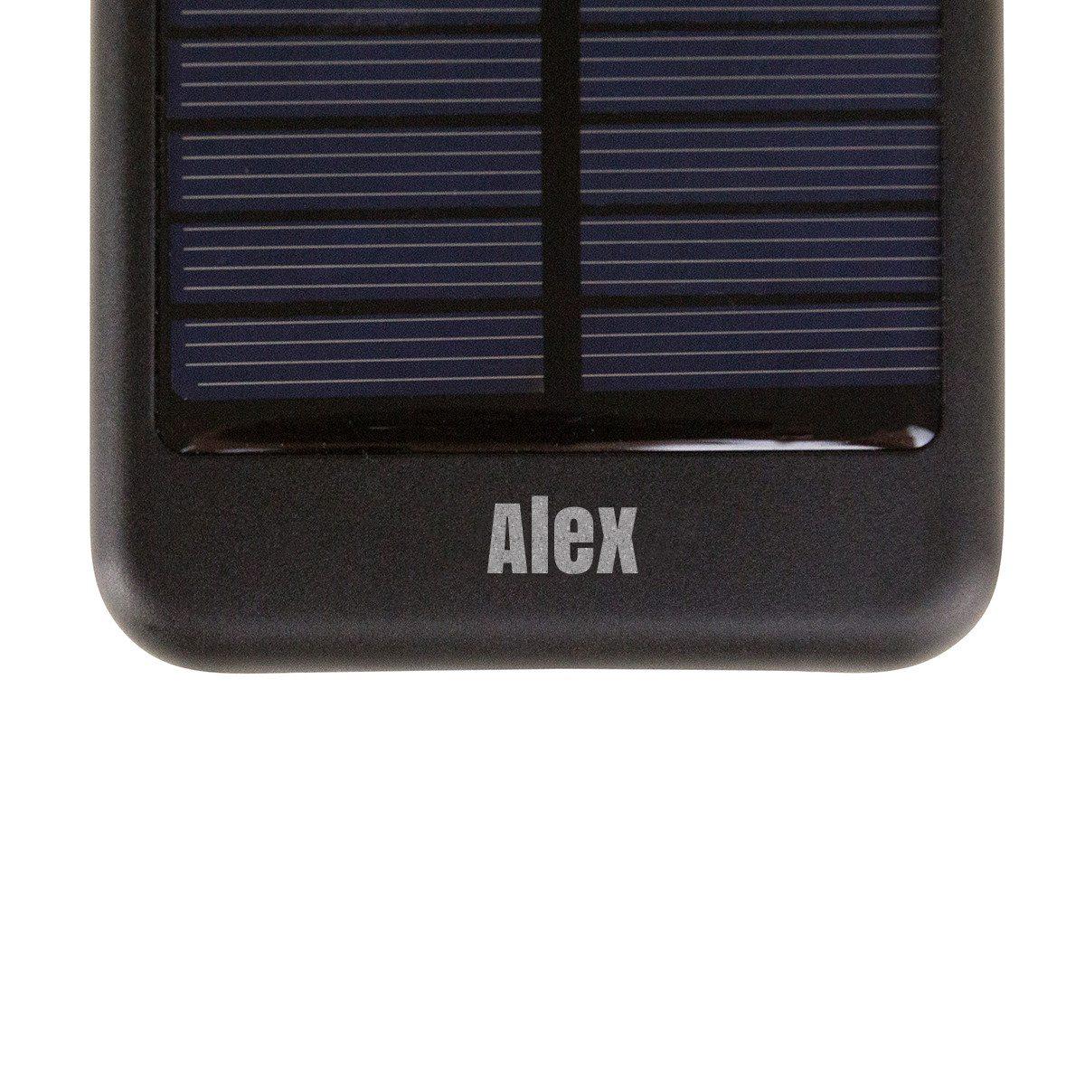 Solar-powerbank met gravure - milieuvriendelijk cadeau