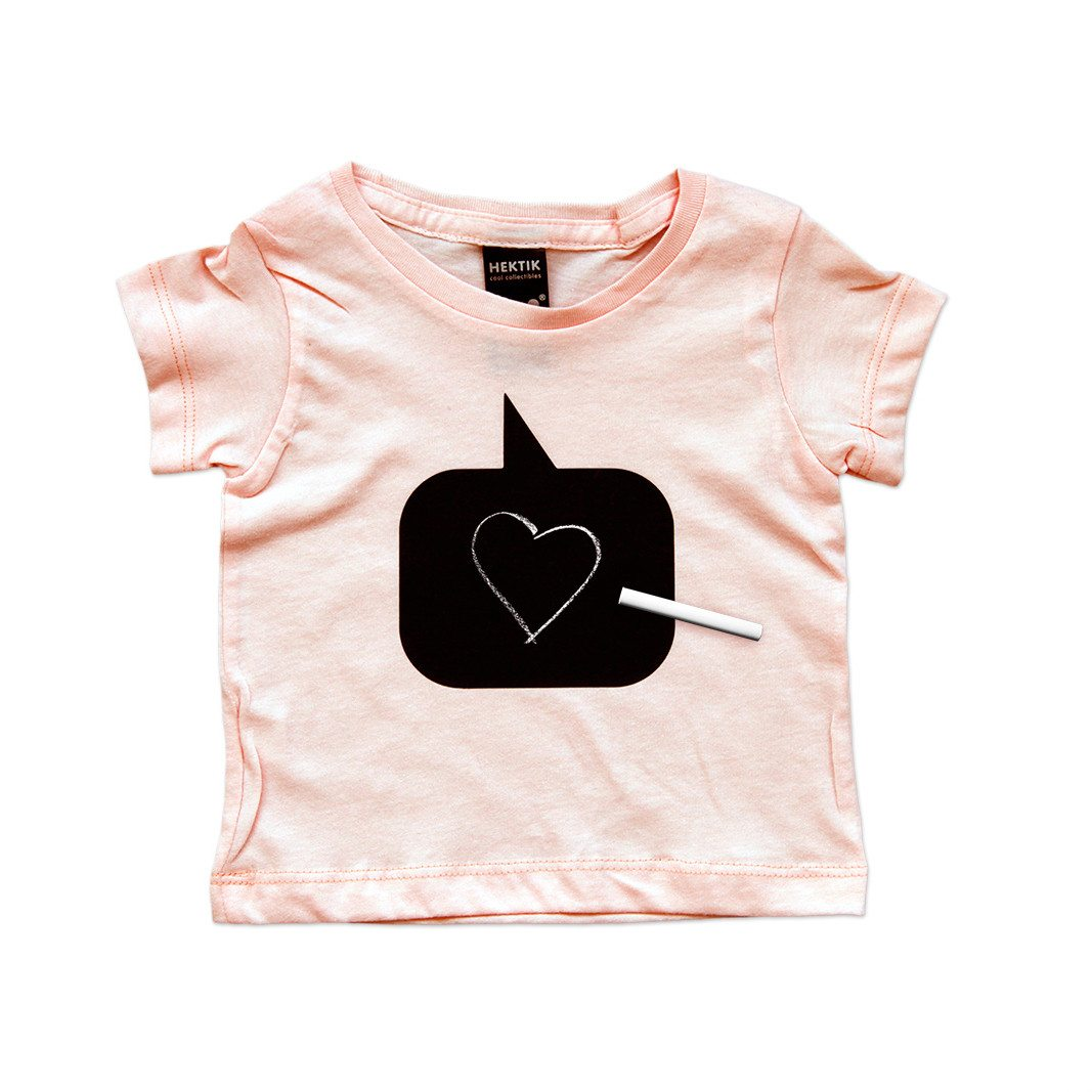 Spreekballon T-shirt voor baby's