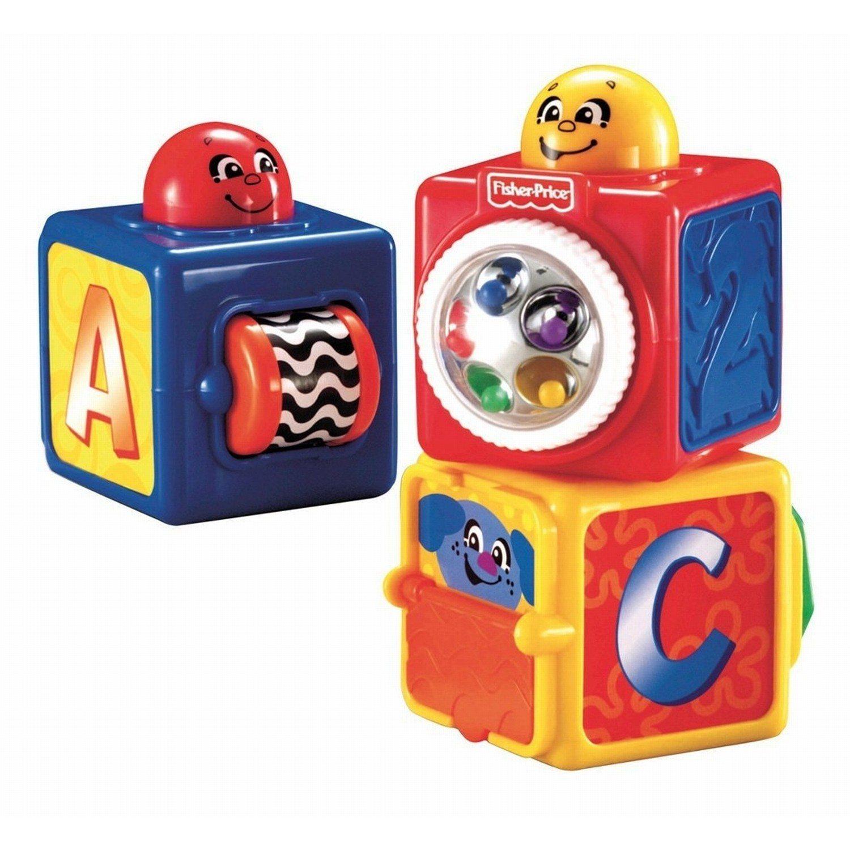 Stapel- en speelkubussen