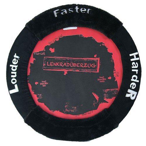 """Stuurhoes """"Faster harder louder"""""""