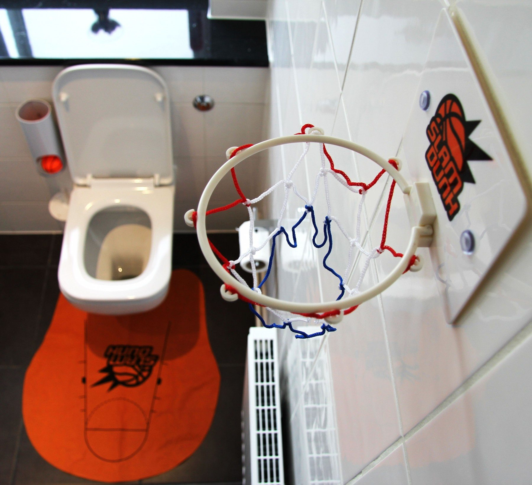 Toilet basketbalset