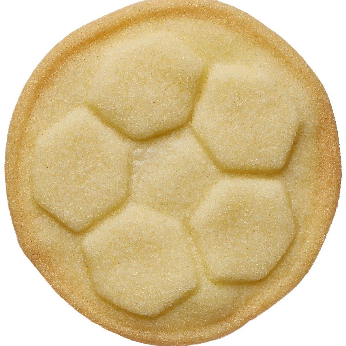Voetbal mini koekjesstempel