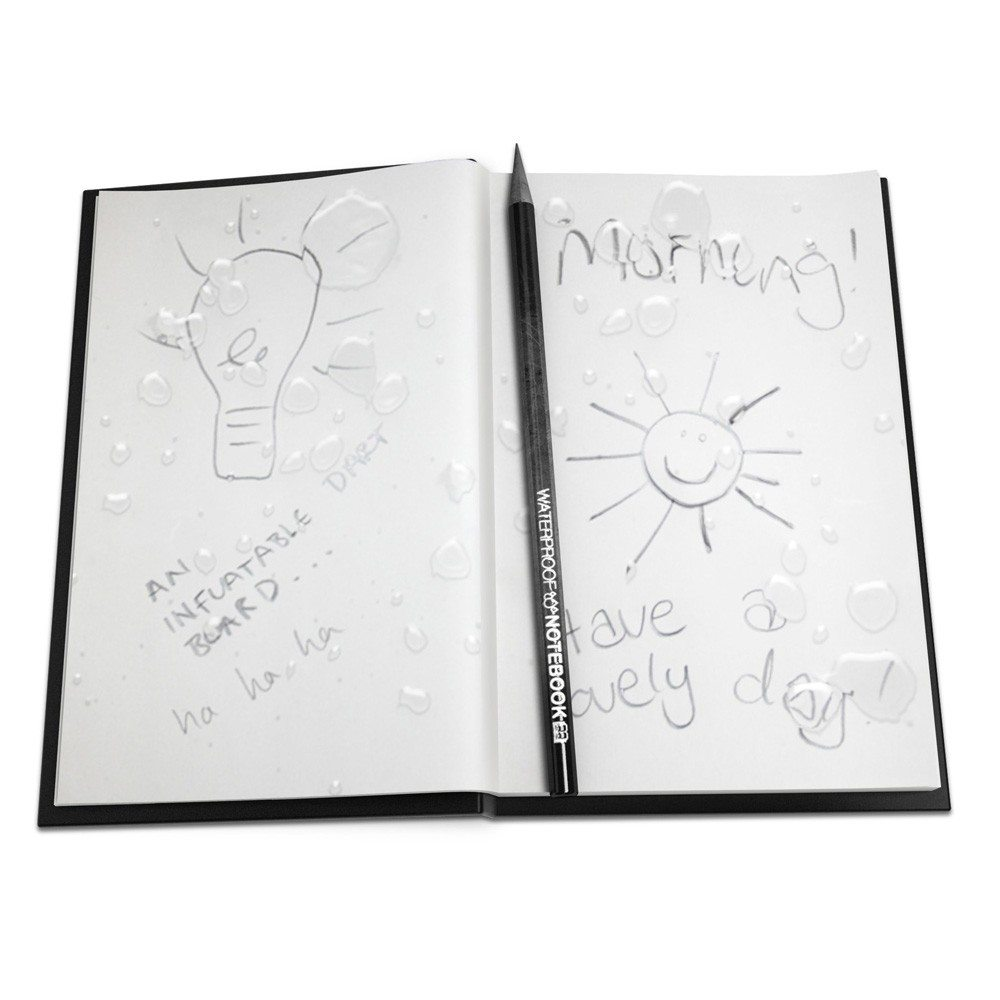 Waterproof notitieboekje