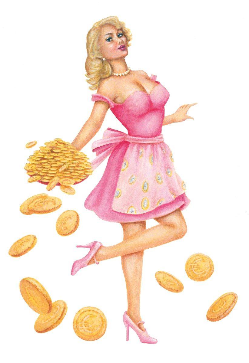 Zelfbak millionair - euro koekjesuitsteekvormen