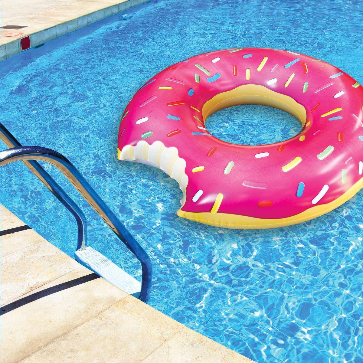 """Zwemband """"Donut"""" - roze"""