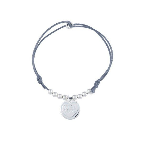 Real Love armbanden – Grijs