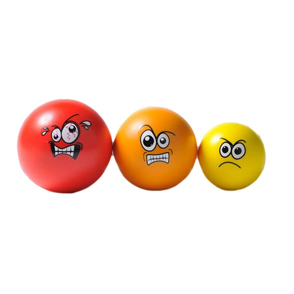 Anti stressballen in set van 3 - Image anti stress ...