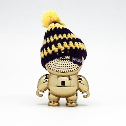 Beanie - miniluidspreker in Gold Chrome